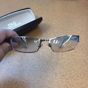 D&G Dolce & Gabbana eyeglasses in good condition.
